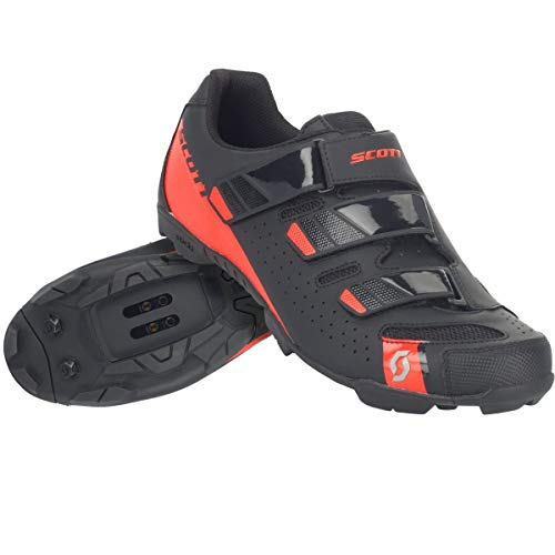 Scott MTB Comp RS cycling shoes black / red 2018: size: 44