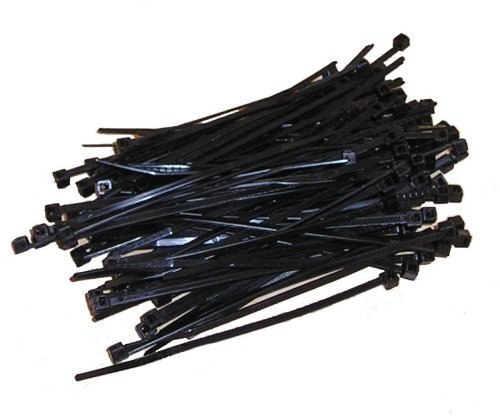 Kabelbinder 100mm Schwarz 100Stck. | Premiumqualität von PC24 Shop & Service