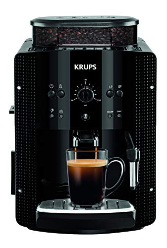 Krups Essential EA8108 Kaffeevollautomat   Espresso und Kaffee   mit CappucinoPlus- Milchdüse   individuell einstellbar   Schnelles Aufheizen   verstellbarer...