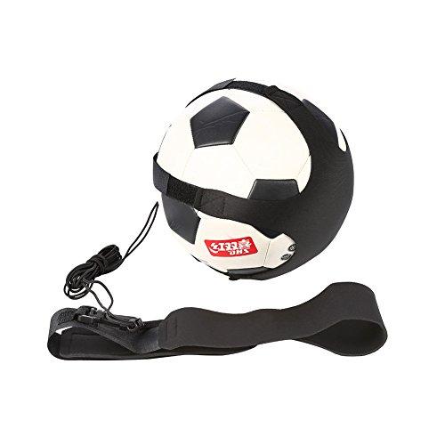 Tbest Fußball Trainer Solo Fussball Kick Trainer Soccer Trainer Gürtel, Fußball Trainingsgürtel Football Training Adjustable Waist Belt Trainingsgeräte für...