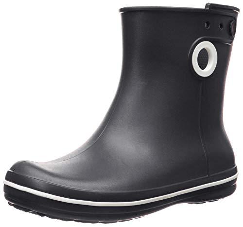 Crocs Jaunt Shorty Boot Women, Damen Gummistiefel, Schwarz (Black), 39/40 EU