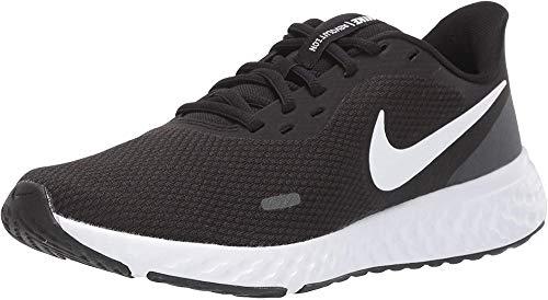 Nike Damen Revolution 5 Laufschuhe, Black White Anthracite, 37.5 EU