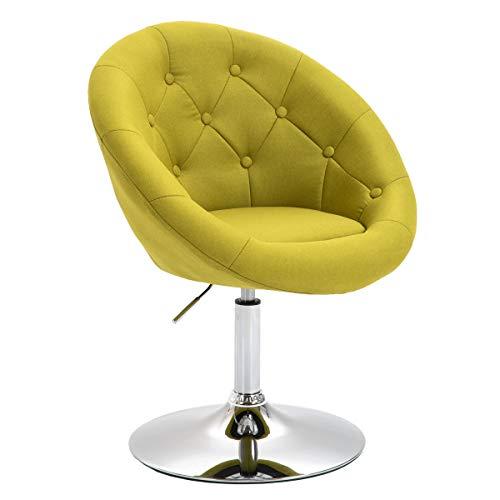 Lounge Sessel Havanna Clubsessel Barhocker Cocktailsessel Drehsessel (Limettengrün)