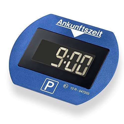 Park Lite 4251511945915 Needit elektronische Parkscheibe Digitale Parkuhr blau mit offizieller Zulassung
