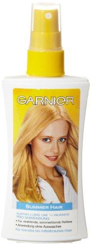 Garnier Cristal Summer Hair Aufheller-Spray, für natürlich aussehende, sommerliche Reflexe, ohne Auswaschen, 1er-Pack (1 x 150 ml)