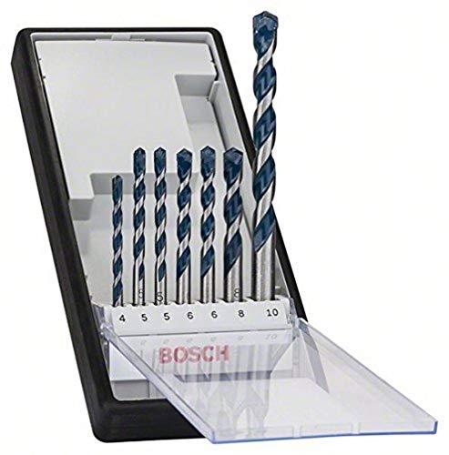 Bosch Professional 7tlg. Betonbohrer Set CYL-5 Robust Line (für Beton, Zubehör Schlagbohrmaschine)