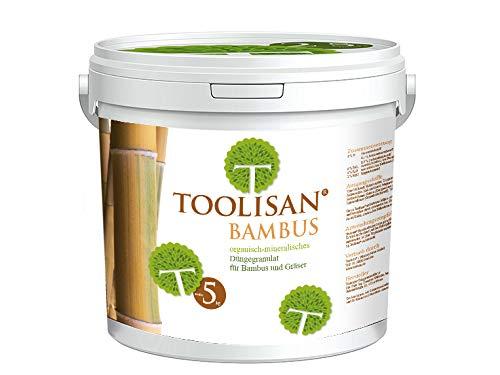 Bambusdünger TOOLISAN mit Langzeitwirkung - 5 kg Eimer*