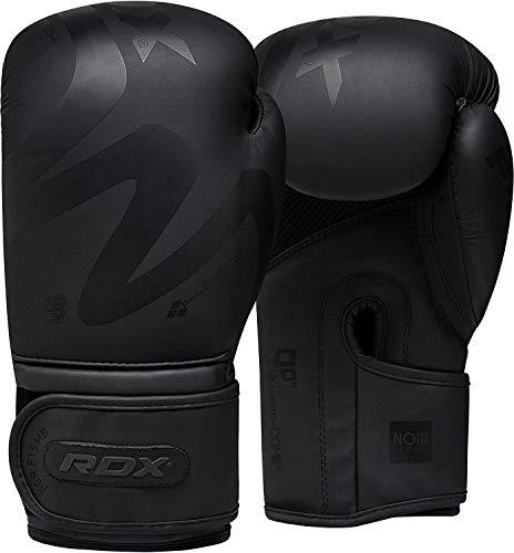 RDX Boxhandschuhe Männer, Muay Thai Sparring Kickboxen, Maya Hide Leder Boxing Gloves, Boxsack Sandsack Punchinghandschuhe, MMA Kampfsport Training...