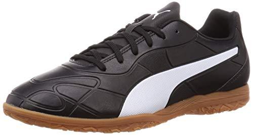 PUMA Men's Monarch IT Sneakers, Black Black White, 45 EU
