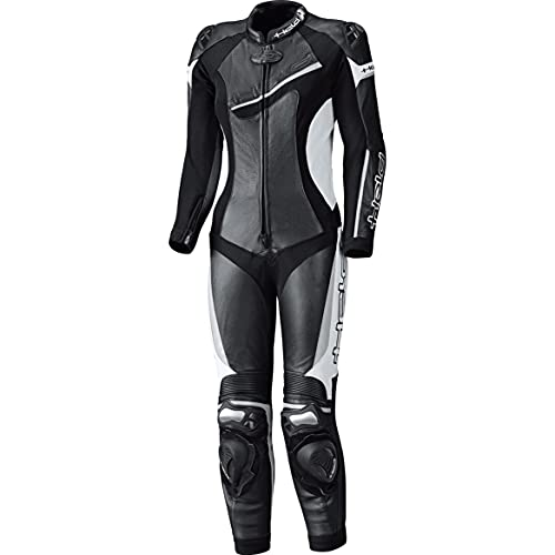 Held Lederkombi mit Protektoren Motorradkombi 1 Teiler Ayana II Damen Lederkombi 1-TLG. schwarz/weiß 40, Sportler, Ganzjährig