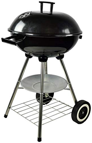 ACTIVA grill kettle grill Atlanta, black, charcoal grill round grill lid