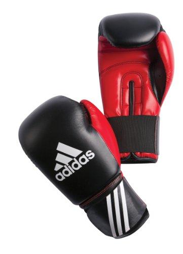 adidas Boxing Glove Response, black-red, 10 oz, ADIBT01-10