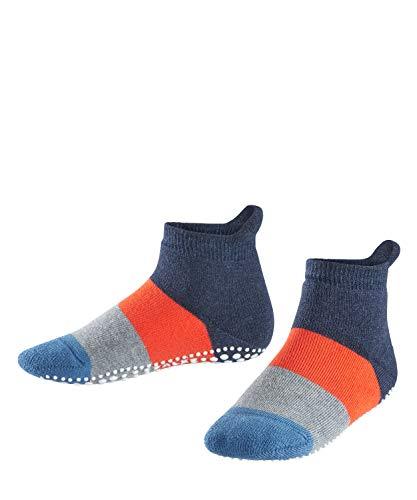 FALKE Unisex Children's Socks, Color Block Catspads K CP-12022, Blue (Navy Blue Melange 6490), 35-38