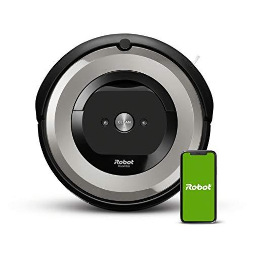 iRobot Roomba e5 (e5154) Saugroboter mit mit 3-stufigem Reinigungssystem, zwei Multibodenbürsten, WLAN Staubsauger Roboter, Ideal für Haustiere, Teppiche und...