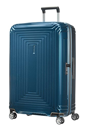 Samsonite Neopulse - Spinner L case, 75 cm, 94 L, blue (Metallic Blue)