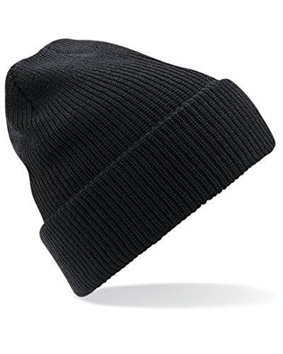 Beechfield Heritage Beanie-Mütze Gr. Einheitsgröße, schwarz