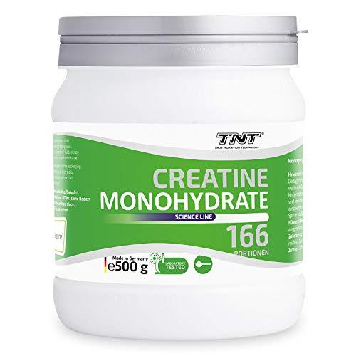 Creatin Monohydrat Pulver – Reines hochwertiges Creapure Kreatin Pulver – Creatine 500g NEUTRAL