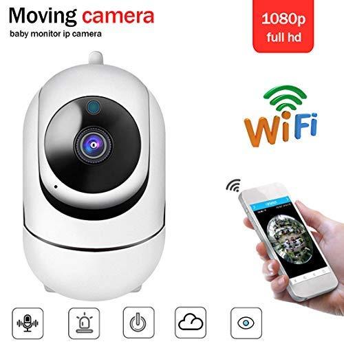 Security camera HD 1080P IP camera 360 degree camera Baby monitor Audio night vision network WiFi camera Two-way audio, alarm, encryption