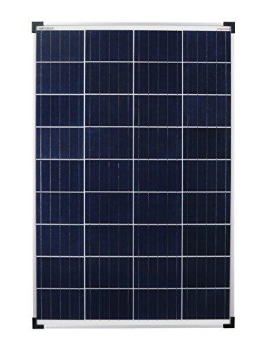 enjoysolar Poly 100W Polykristallines Solar panel 100Watt ideal für Wohnmobil, Gartenhäuse, Boot … (Einzelpack)