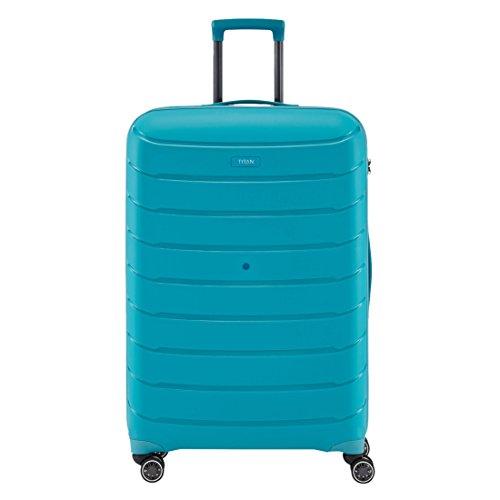 TITAN Limit Trolley M, exp, 823405-21 Koffer, 68 cm, 72 L, Aqua Blue