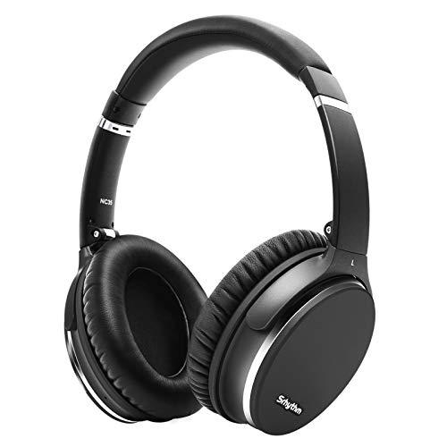 Hybrid Active Noise Cancelling Kopfhörer,Faltbar,Kabellos,Bluetooth 5.0,Srhythm NC35 Over-Ear mit USB-C Schnellladung,CVC8.0-Mikrofon,Sprachanruf 40+ Std.für iOS...