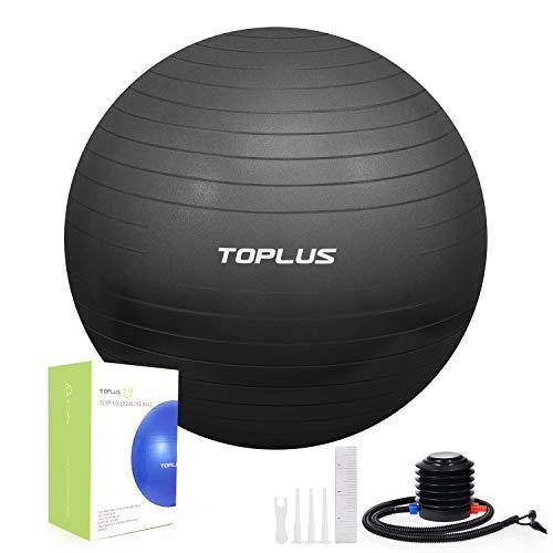 Gymnastikball Sitzball Extra dicker Yoga-Ball-Stuhl, Anti-Berst-Stabilitätsball für hohe Beanspruchung, Robuster Maximalbelastbarkeit, Balance ball mit...