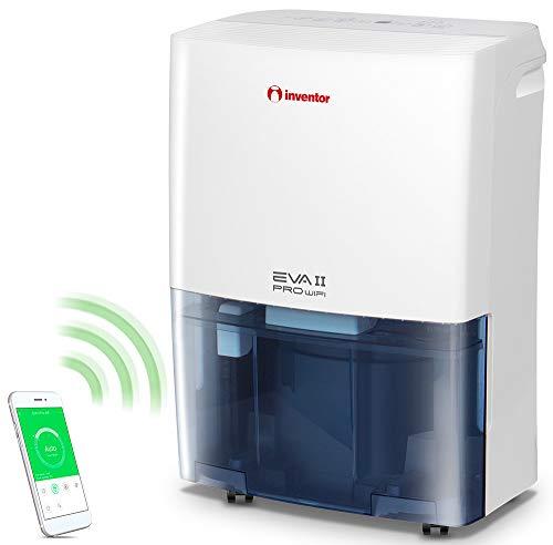 Inventor Eva II PRO WI-FI Luftentfeuchter 20L/Tag mit, WLAN Technologie, R 290,für Räume bis 100m³, tragbar, kompakt, gegen Feuchtigkeit und Schimmel für das...