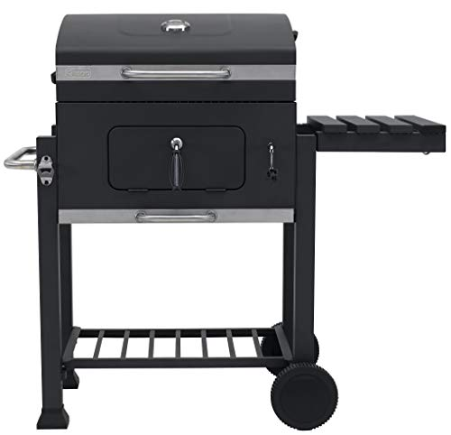 Tepro grill cart Toronto Click charcoal grill, model 2019, anthracite / stainless steel