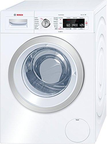 Bosch WAW28570 Serie 8 Waschmaschine Frontlader/ A+++ / 196 kWh/Jahr / 1400 UpM / 8 kg / weiß / Home Connect / i-DOS Dosierautomatik