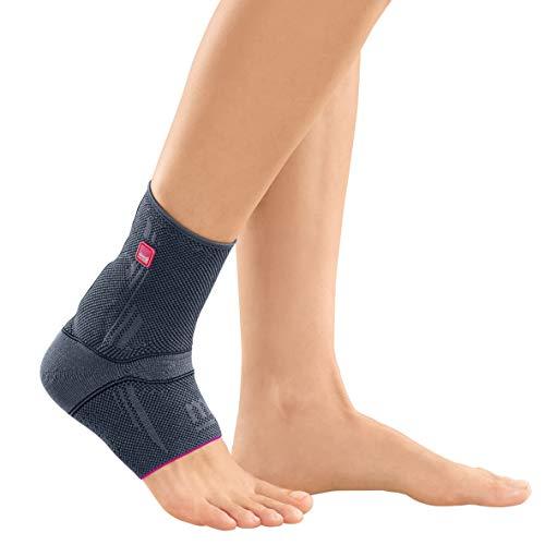 medi Achimed - Achillessehnenbandage unisex   silber   Größe IV   Bandage zur Entlastung der Achillessehne   Beidseitig tragbar