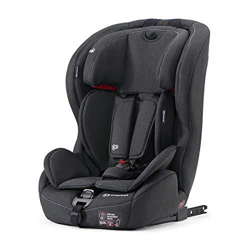 Kinderkraft Kinderautositz SAFETY FIX, Autokindersitz, Autositz, Kindersitz mit Isofix und Top Tether, Gruppe 1/2/3 9-36kg, 5 Punkt Sicherheitsgurt, Einstellbare...