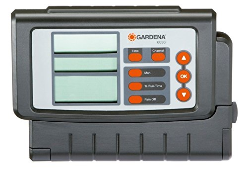GARDENA Irrigation Controller Classic 6030: Irrigation computer for automatic irrigation, large display, for up to 6 valves (1284-20)