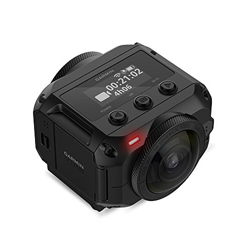 Garmin VIRB 360 - waterproof 360-grade camera with GPS and up to 5,7K / 30fps resolution or 4K / 30fps with auto-stitching function and spherical image stabilization