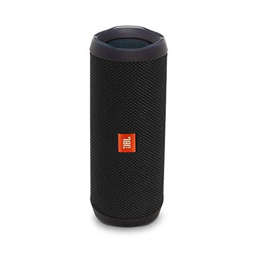 JBL Flip 4 Bluetooth Box - Wasserdichter, tragbarer Lautsprecher mit Freisprechfunktion und Alexa-Integration - Bis zu 12 Stunden Wireless Streaming mit nur einer...