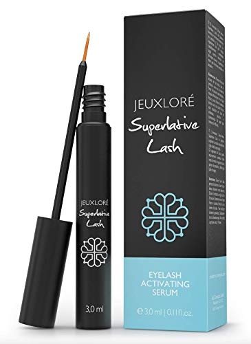JEUXLORÉ - Superlative Lash Eyelash Serum & Eyebrow Serum - For beautiful eyelashes - 3 ml