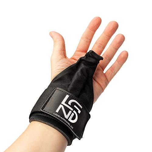 LEGEND Power-Zughaken für Profis   Powerlifting Zughilfen   Neue und verbesserte Version 2.0   2er Set   Handgelenk Bandagen für Fitness Training  ...
