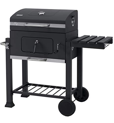 Tepro grill trolley Toronto Click charcoal grill, anthracite / stainless steel