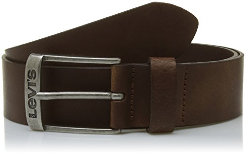 Levi's LEVIS FOOTWEAR AND ACCESSORIES Herren NEW DUNCAN Gürtel, Braun (Dark Brown), 110