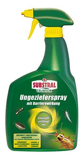 Substral Celaflor vermin spray with barrier effect, pump spray against vermin, with immediate & long-term effect, 800ml