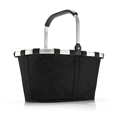 reisenthel carrybag black Einklaufskorb 48 x 29 x 28 cm, 22 Liter