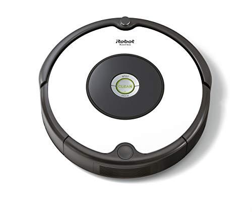 iRobot Roomba 605 Saugroboter mit 3-stufigem Reinigungssystem, Dirt Detect Technologie, Staubsauger Roboter, selbstaufladend mit Ladestation, geeignet für...