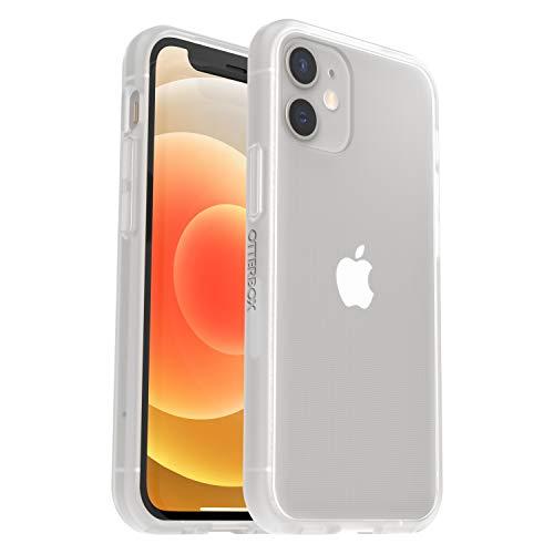 OtterBox Sleek Case - transparente, sturzsichere Schutzhülle für Apple iPhone 12 mini, transparent (ohne Einzelhandelsverpackung)