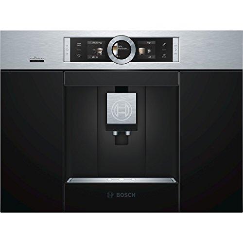 Bosch CTL636ES6 Einbau-Kaffee-Vollautomat / 2,4 Liter / 59.4 cm / Edelstahl / Automilk Clean - vollautomatische Dampf-Reinigung nach jedem Getränk / One-Touch...