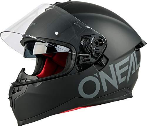 O'NEAL | Motorrad-Helm | Enduro Adventure Street | Sicherheitsnormen DOT und ECE 22.05, ABS-Schale, integrierte Sonnenblende | Challenger Helmet Flat | Erwachsene |...