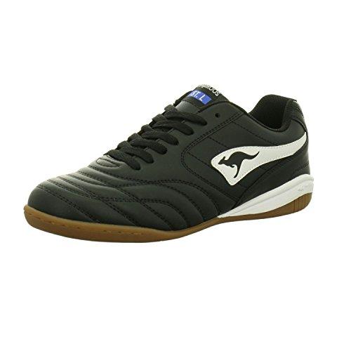 KangaROOS Men's K-Yard 3021 B Sneaker, White / Jet Black 0500, 44 EU