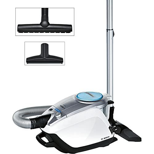 Bosch Staubsauger beutellos Relaxx'x ProSilence Plus BGS5331, ideal für Allergiker, Hygiene-Filter, Bodendüse für Parkett, Teppich, Fliesen, langes Kabel,...