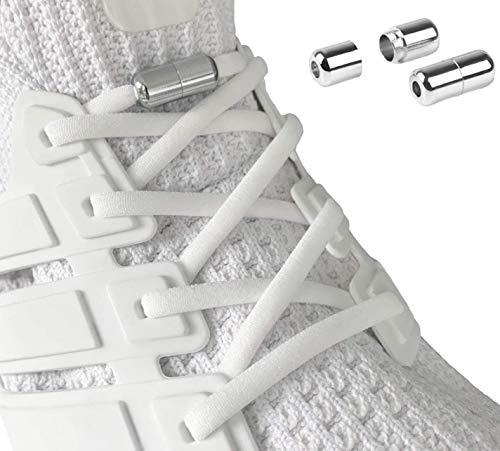 Laceton Elastische Schnürsenkel | Schnellschnürsystem mit hochwertigem Metall Lock-Verschluss - Stylischer Komfort und starker Halt | Schnürsenkel-Set, Nie mehr...