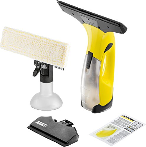 Kärcher Battery Window Vac WV 50 Plus (battery life: 20 min, spray bottle with microfiber cover, window cleaner concentrate 20 ml)