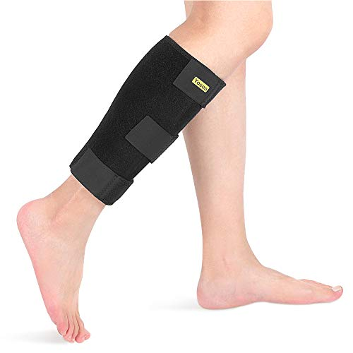 Calf bandage Adjustable calf support Neoprene compression to relieve tight calves, muscle pain, torn calves, swelling, sprains, men and women.