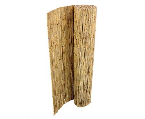 bambus-discount.com Schilfrohrmatten Premium Beach, 160 hoch x 600cm breit Sichtschutz Matten Windschutzmatten